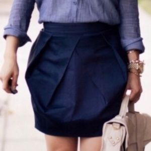 J. Crew Lunette Mini Skirt